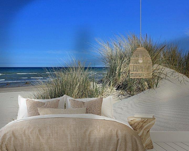 Beispiel fototapete: Sandwellen im Mai von Ostsee Bilder