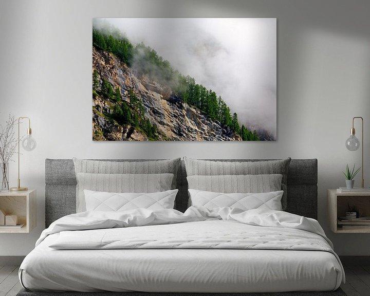 Sfeerimpressie: Mist op de flanken van Anton de Zeeuw