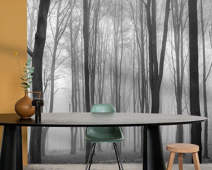 Sfeerimpressie behang: Dark Woods van Philippe Velghe