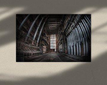 Die Kathedrale des Zerfalls (Urbex) von Eus Driessen