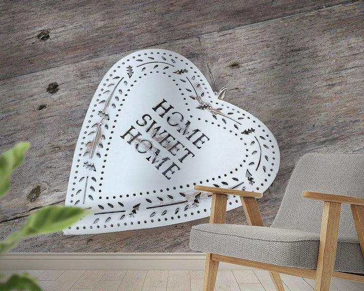 Sfeerimpressie behang: Home Sweet Home van Inge Hogenbijl