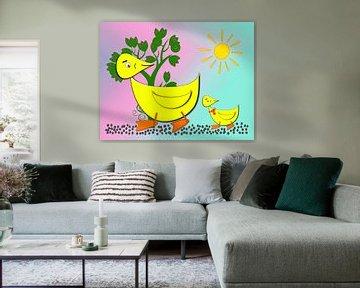 Ducky und Duckling van Roswitha Lorz