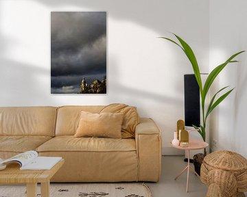 Stormachtig Amsterdam  von Paul Teixeira