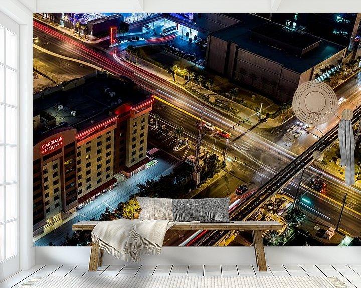 Sfeerimpressie behang: Las Vegas van Han van der Staaij