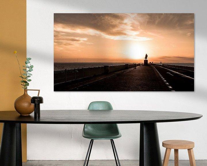 Sfeerimpressie: Afsluitdijk van Alex Hiemstra
