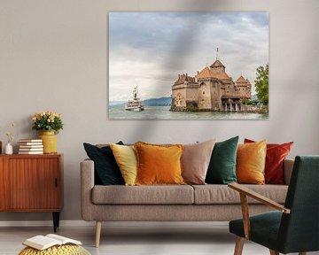 Schloss Chillon Montreux von Carlos Charlez