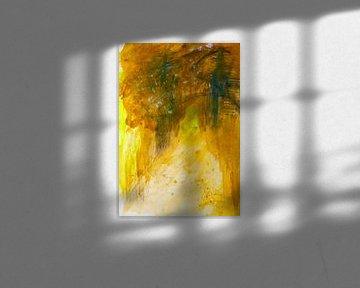 tief im Wald - abstrakt von M.A. Ziehr