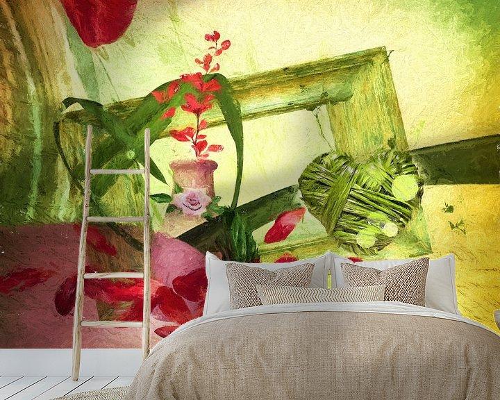 Sfeerimpressie behang: Heart of hope van Dagmar Marina