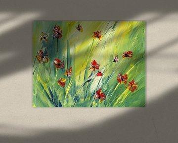 Wie die bunten Schmetterlinge van Katarina Niksic