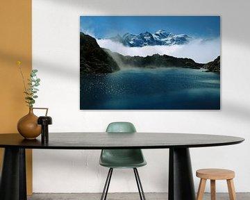 Een meer in Mont-Blanc van Jc Poirot