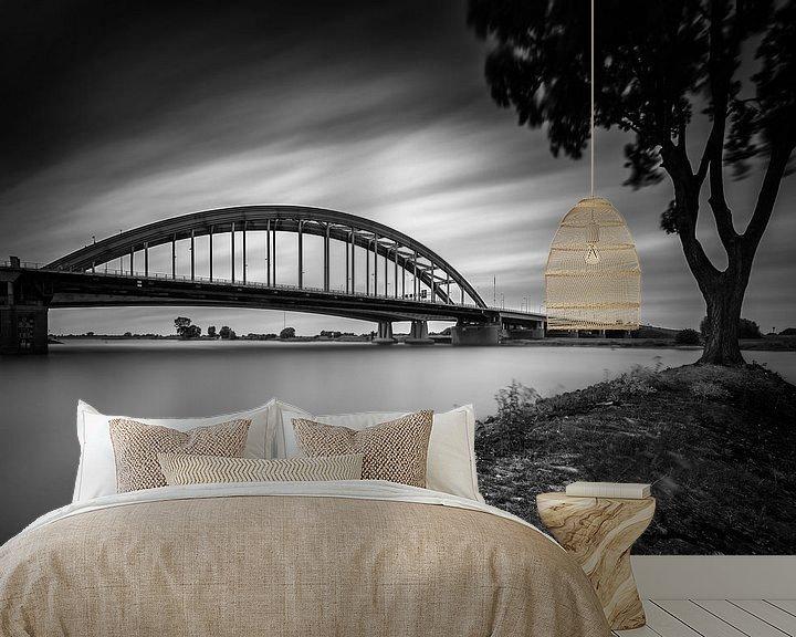 Beispiel fototapete: Viaanse Bow Bridge  von John Verbruggen