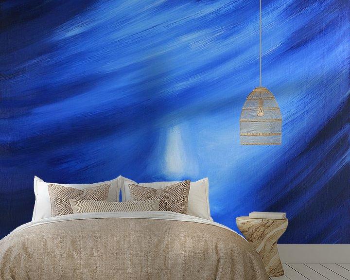 Sfeerimpressie behang: Dreamy van Marije du Bateau