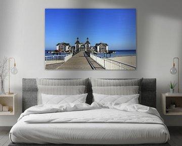 Seebrücke Sellin von Ostsee Bilder