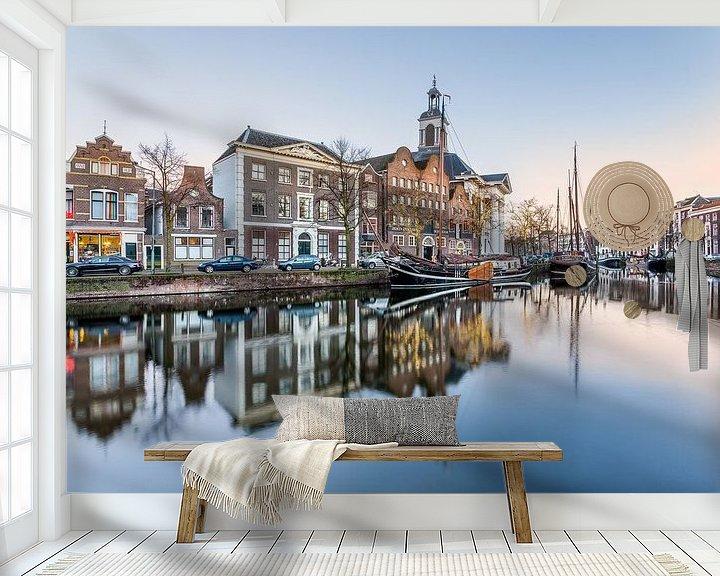 Sfeerimpressie behang: Goodmorning Schiedam van Brian van Daal