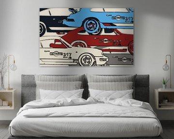 Porsche Martini #317 von 2BHAPPY4EVER.com photography & digital art