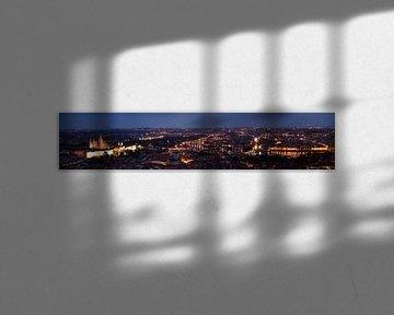 Praag by night van Danny van Schendel