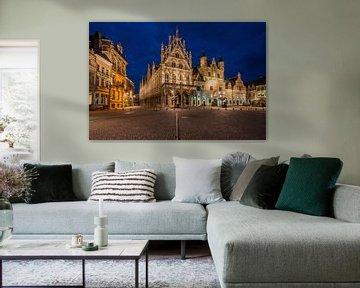 Stadhuis Mechelen van Bert Beckers