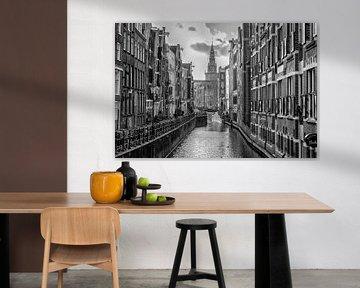 Oudezijds Kolk in Amsterdam von Don Fonzarelli