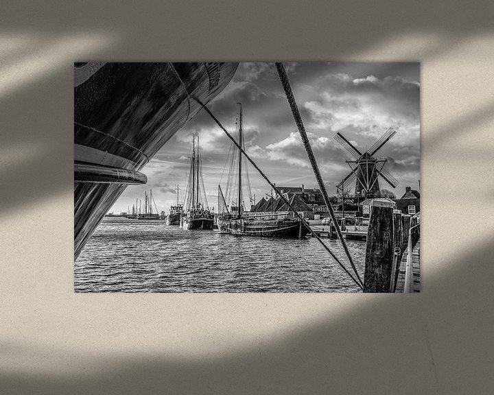 Sfeerimpressie: Port Zierikzee van Wessel Krul