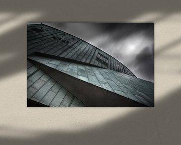 Abstracte architectuur in Rotterdam  von Ingrid Van Damme fotografie