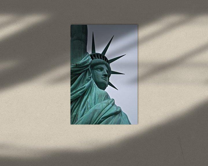 Sfeerimpressie: Het vrijheidsbeeld - New York, Amerika van Be More Outdoor