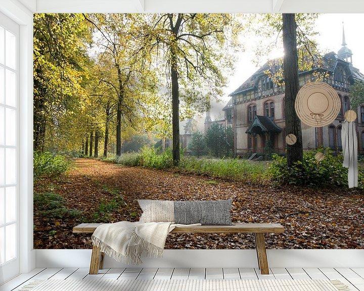 Beispiel fototapete: Abandoned female sanatorium von Matthijs Dijk