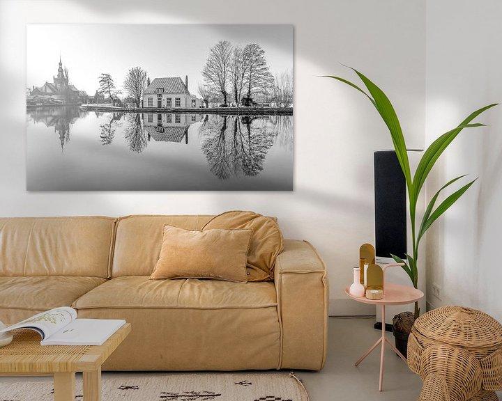 Sfeerimpressie: Het Veerhuis in Rotterdam Overschie z/w van MS Fotografie   Marc van der Stelt