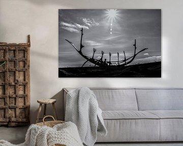 Vikingschip - Reykjavik van Ralf Linckens