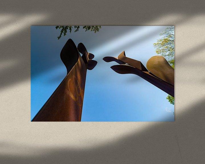 Sfeerimpressie: Roestige gladiolen van Maerten Prins