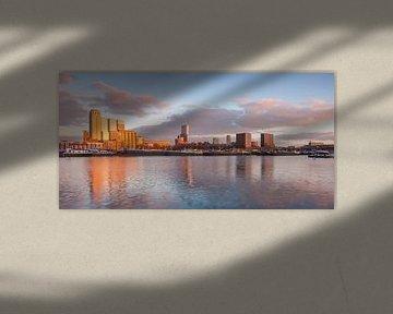 Panorama Maashaven Rotterdam