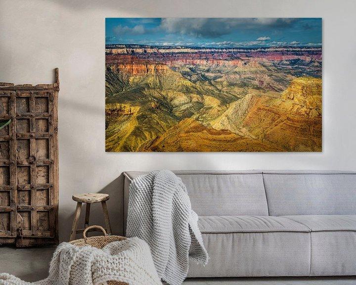 Sfeerimpressie: Prachtig uitzicht over de Grand Canyon vanaf de south rim van Rietje Bulthuis