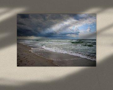 Sommersturm von Ostsee Bilder