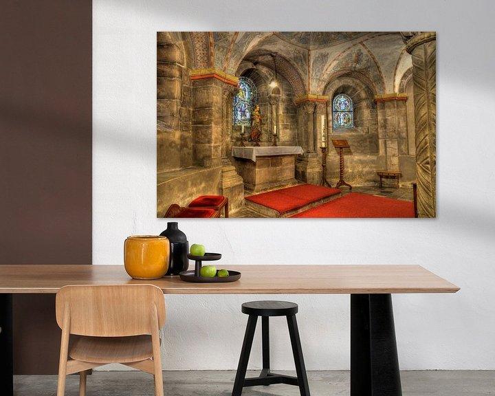 Sfeerimpressie: Crypte van Rolduc van Francois Debets