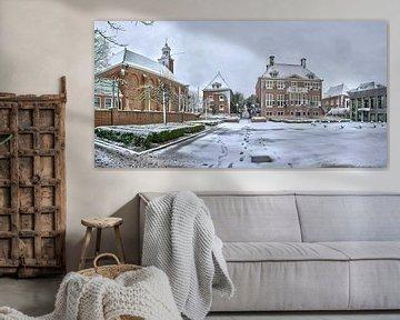 Gemeentehuis Helllevoetsluis van Bob de Bruin
