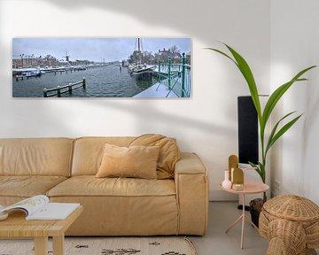 Binnenhaven Hellevoetsluis van Bob de Bruin