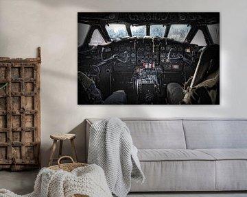 Cockpit Sud Aviation SE 210 Caravelle III von Eus Driessen