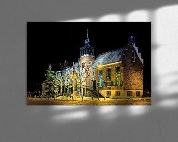 Raadhuis, gemeentehuis Baarle-Nassau van Photo Dante