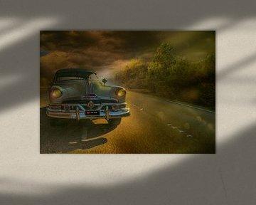 Pontiac Chieftain 1952 van Kvinne Fotografie