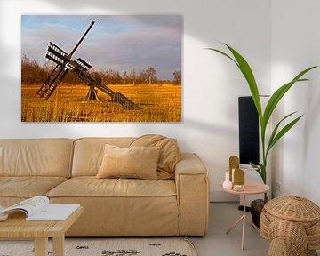 Dutch Antique Watermill