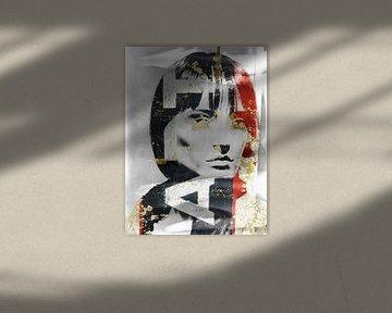 The grey face and ART van Gabi Hampe