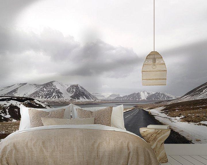 Impression: weg in het winterandschap in ijsland sur ChrisWillemsen