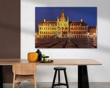 Town hall Antwerp van Gunter Kirsch
