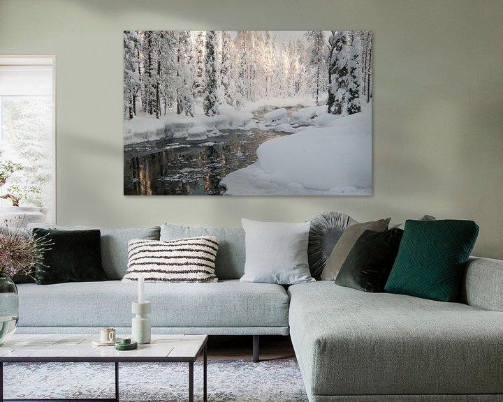 Sfeerimpressie: Iso Syöte - Finland - Lapland van Erik van 't Hof