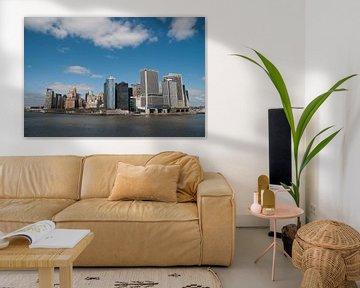 New york skyline manhattan van Erik van 't Hof