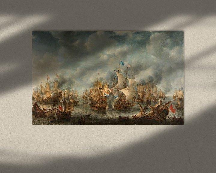 Sfeerimpressie: Slag bij Terheide, Jan Abrahamsz. Beerstraten