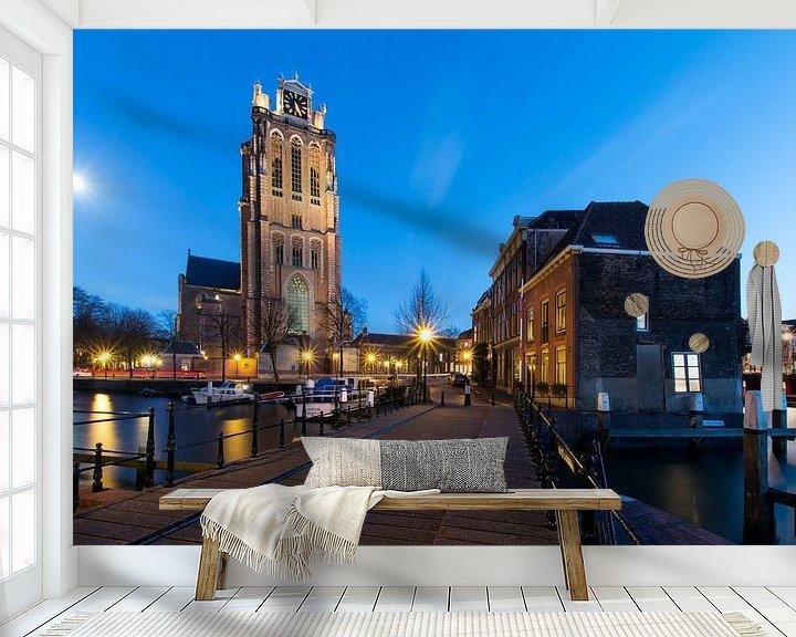 Sfeerimpressie behang: Moonlight van Jan Koppelaar