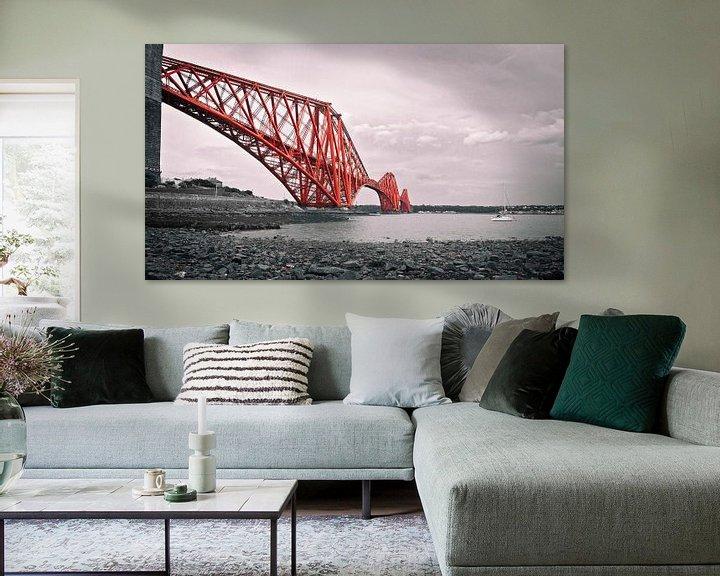 Beispiel: Forth Bridge Scotland von Annemiek van Eeden