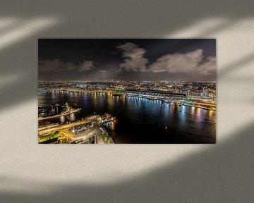 Auf Amsterdam, Blick vom A'DAM Tower von Renzo Gerritsen