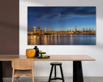 Skyline Kampen in the Blue Hour von Tux Photography