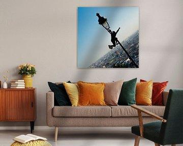 Air Artist in Paris - Sacré-Coeur van Sense Photography
